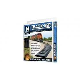 ST1475 - Track-Bed Woodland Scenics N longueur 7 mètres