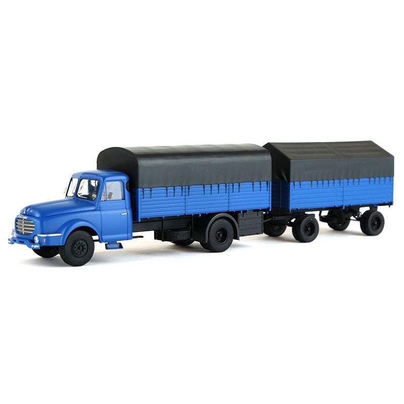 1//87 REE Modeles Willeme Pritschen Planen HZ blau CB-106
