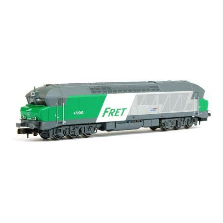 Diesel CC 72083 FRET ép. V SNCF - analogique - échelle N - ARNOLD HN2385