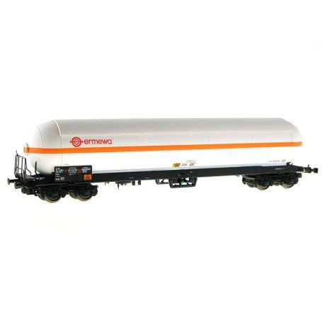 Wagon citerne gaz Zagkks Ermewa - ép. IV et V - HO - LS Models 30765