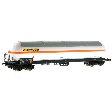 Wagon citerne gaz Zagkks SIMOTRA - ép. IV et V - HO - LS Models 30767