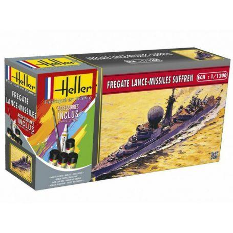Frégate lance-missiles SUFFREN - échelle 1/1200 - HELLER 49033