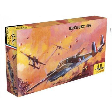 BREGUET 693 - échelle 1/72 - HELLER 80392