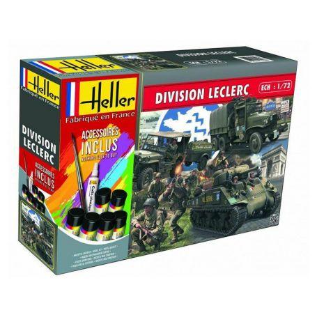 Kit complet division Leclerc - 1/72 - HELLER 53015