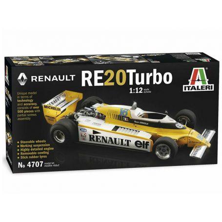 Italeri 4707 - Renault RE20 Turbo - échelle 1/12