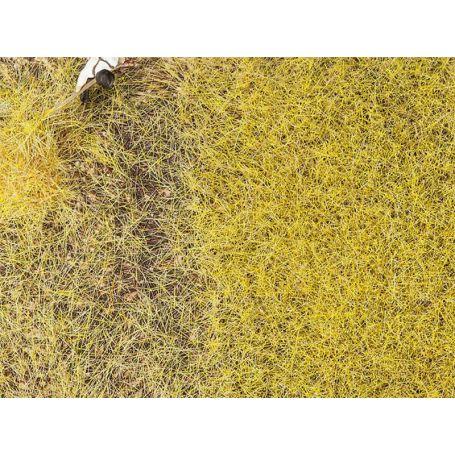 Flocage fibres PREMIUM jaune paille 6mm toutes échelles - Faller 170776
