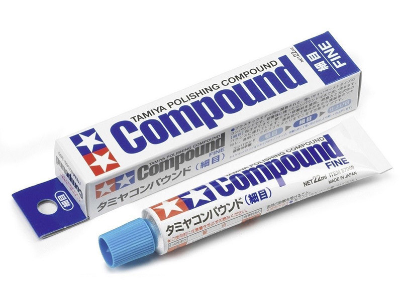 Polishing Compound Fine TAMIYA 87069 Pâte à Polir Grain Fin