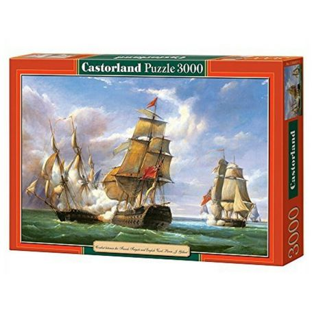 Combat naval 21 avril 1806 - Puzzle 3000 pièces - CASTORLAND