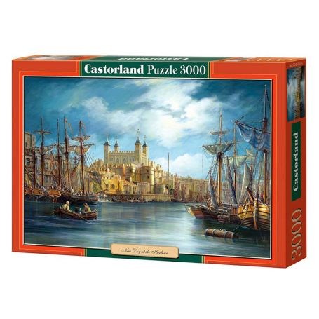 New Day at the Harbour - Puzzle 3000 pièces - CASTORLAND