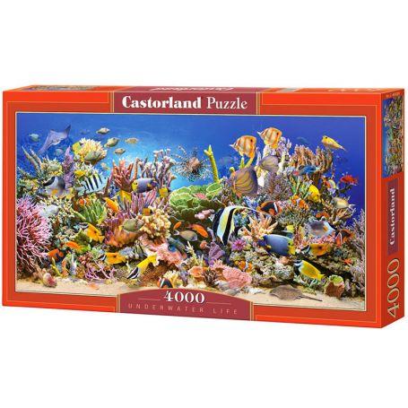 Underwater life - Puzzle 4000 pièces - CASTORLAND
