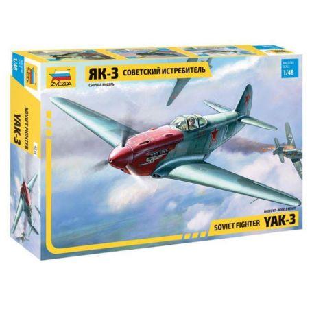 YAK-3 Normandie Niemen - 1/48 - ZVEZDA 4814