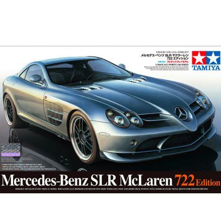 Mercedes-Benz SLR 722 - échelle 1/24 - TAMIYA 24317