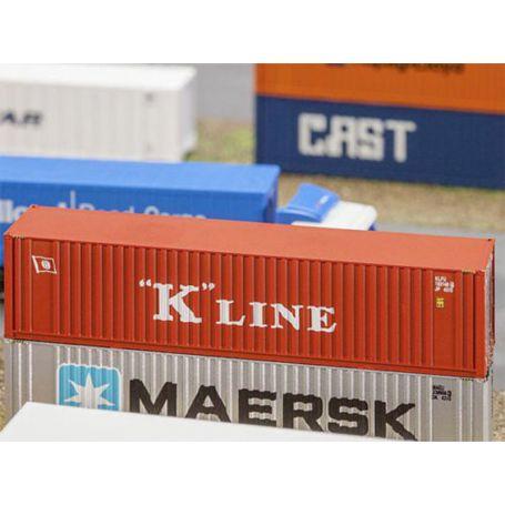 Container 40' K-Line échelle N 1/160 - FALLER 272820