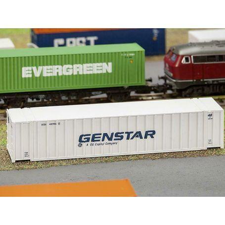 Container 40' Genstar échelle N 1/160 - FALLER 272840