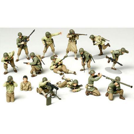 Soldats américains - 1/48 - Tamiya 32513
