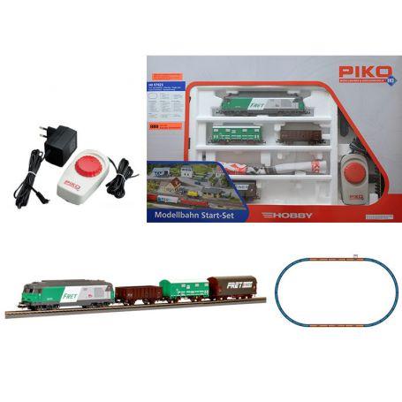 Set de départ train de marchandises BB 67000 SNCF analogique - PIKO 97925