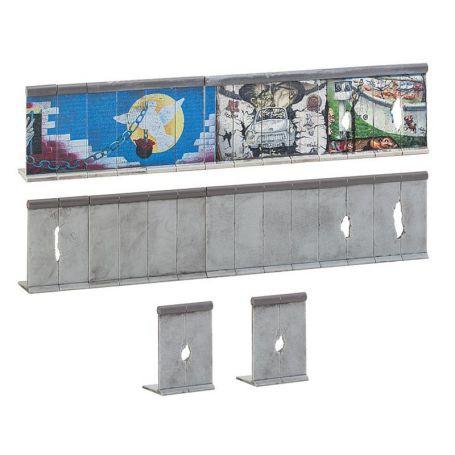 Mur de Berlin échelle N 1/160 - FALLER 272424