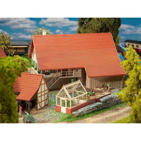 Grande maison paysanne échelle HO 1/87 - FALLER 191744