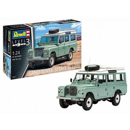 Land Rover série 3 LWB - échelle 1/24 - REVELL 07047