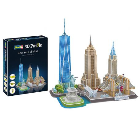 Puzzle 3D diorama New York - Revell 00142