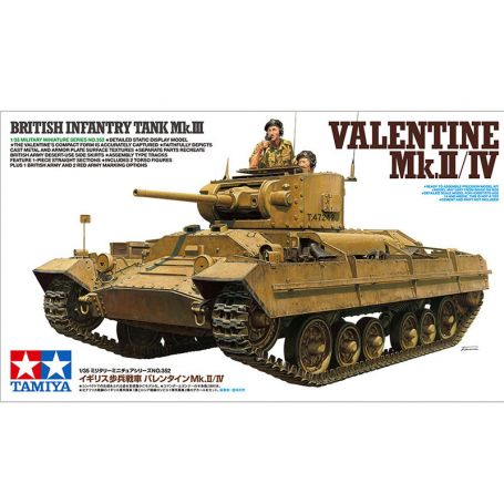Valentine Mk.II/IV WWII - 1/35 - Tamiya 35352