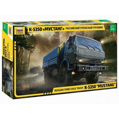 Camion militaire Kamaz 3 essieux - 1/35 - ZVEZDA 3697