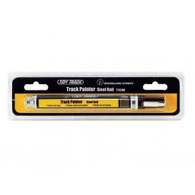 WOODLAND SCENICS TT4580 - feutre de peinture pour rails couleur acier sombre
