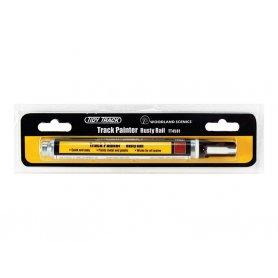 WOODLAND SCENICS TT4581 - feutre de peinture pour rails couleur rouille