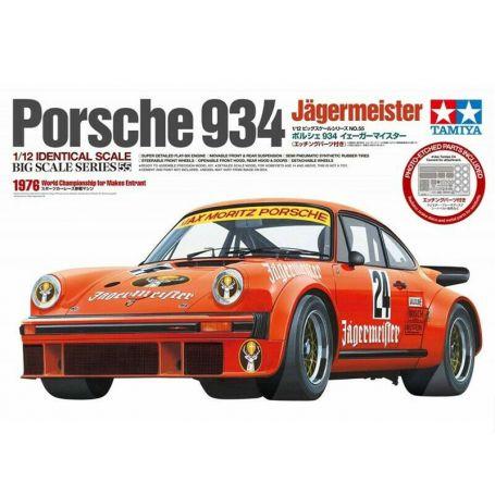 Porsche 934 Jägermaister - échelle 1/12 - TAMIYA 12055