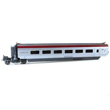 Voiture intermédiaire Thalys PBKA 2ème CL. SNCF ép. VI - HO 1/87 - JOUEF HJ3002