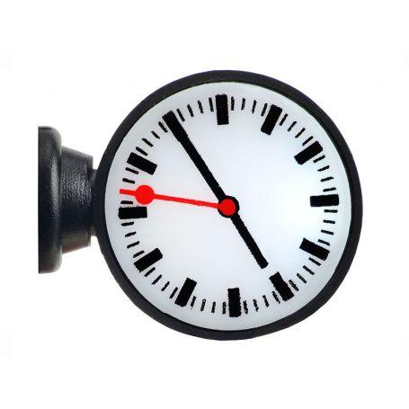 Horloge de quai de gare avec éclairage intégré - HO 1/87 - VIESSMANN 1383