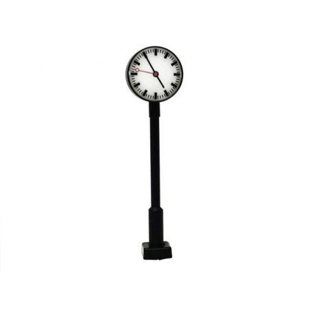 Horloge de quai sur pied avec éclairage LED - HO 1/87 - VIESSMANN 50801