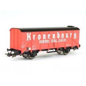 Wagon couvert GS40 SNCF époque IV PIKO 54983 HO