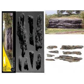 Woodland Scenics C1247 - moule de roches de falaise étagée