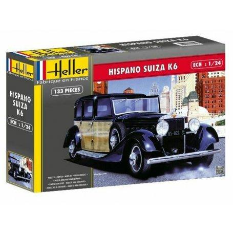 Hispano Suiza K6 - échelle 1/24 - HELLER 80704
