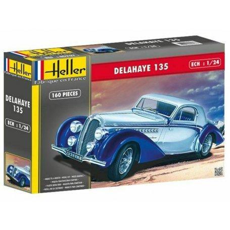 Delahaye 135 - échelle 1/24 - HELLER 80707