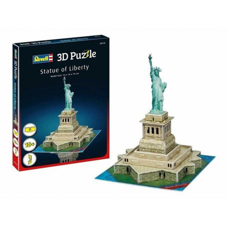 Puzzle 3D diorama Statue de la Liberté - Revell 00114