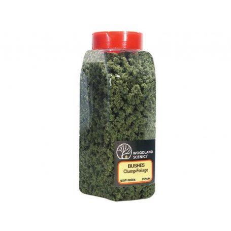 Buissons olive green toutes échelles - Bushes Woodland Scenics FC1644