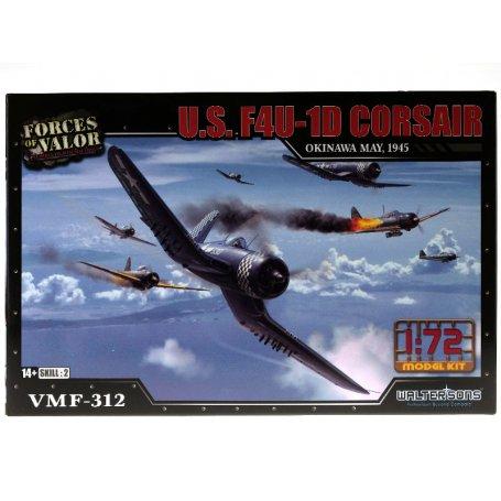 U.S. F4U 1D Corsair 1945 WWII - échelle 1/72 - FORCES OF VALOR 873011