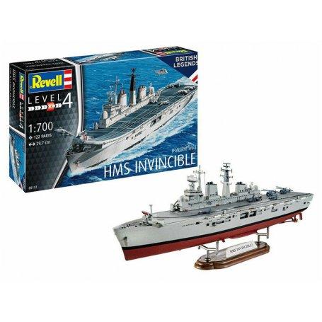 HMS Invincible (guerre des Malouines) - échelle 1/700 - REVELL 05172