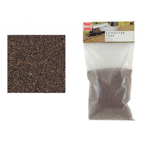 ballast marron grain moyen 230 gr Busch 7066