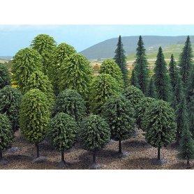 Busch 6591 - Assortiment de 50 arbres échelle N