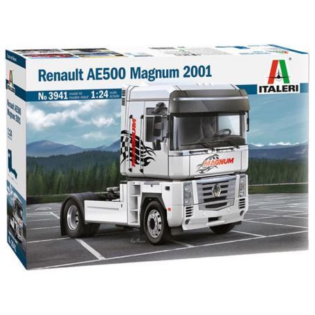 Renault AE500 Magnum - échelle 1/24 - ITALERI 3941