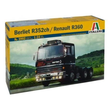 Berliet R352ch / Renault R360 - échelle 1/24 - ITALERI 3902
