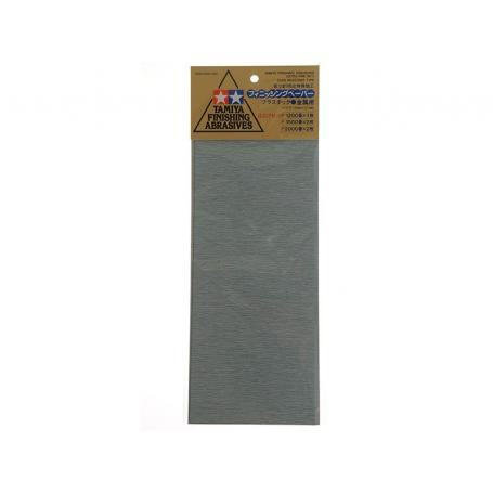 3x limes abrasives double face larges 80x30x12mm Modelcraft