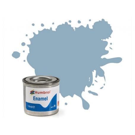 Humbrol 128 Satin Us Compass Grey Gris Boussole Us Satine Peinture Enamel 14ml Aa1417