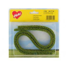 HEKI 1752 - 2x haie flexible en mousse 50 cm vert moyen