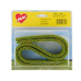 HEKI 1756 - 2x grande haie flexible en mousse 50 cm vert clair HO