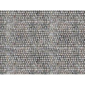 HEKI 12070 - 3x feuilles cartonnées pavés HO - 34 x 21 cm