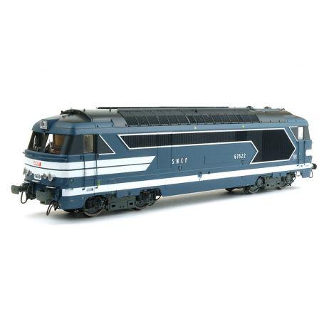 BB 67522 STRASBOURG - SNCF ép. III-IV analogique - HO 1/87 - REE MB-097